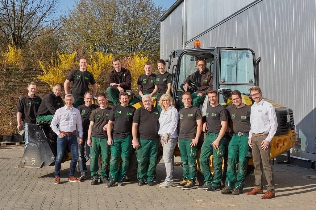 Koch Gartendesign Iserlohn Teamfoto